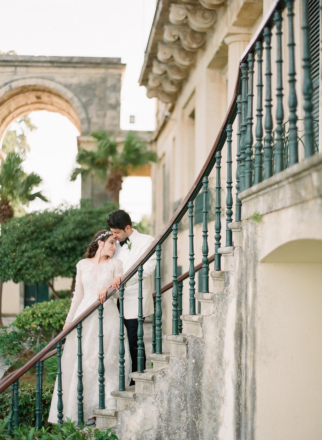 Corfu Island Wedding with Elegant and Romantic Details | Les Anagnou | Greece photographer, fine art film Greece photographer